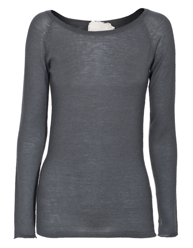 FRIENDLY HUNTING Raglan O-neck Dark Grey