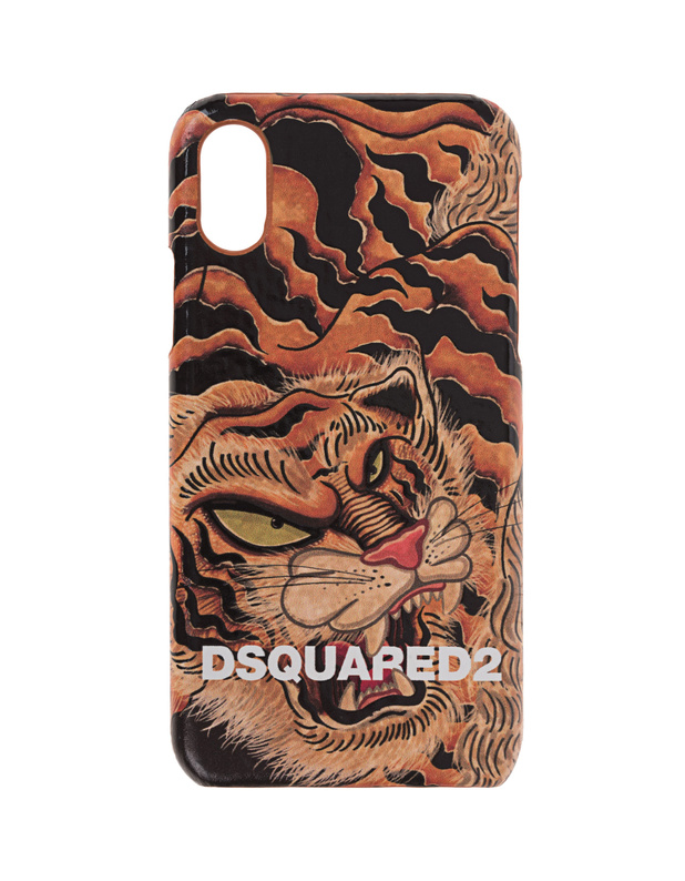 iPhone X/Xs Case Tiger Multicolor