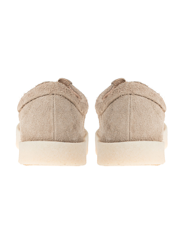 1a0389681c21f YEEZY Thick Shaggy Suede Crepe Beige Suede leather sneaker - Sneakers