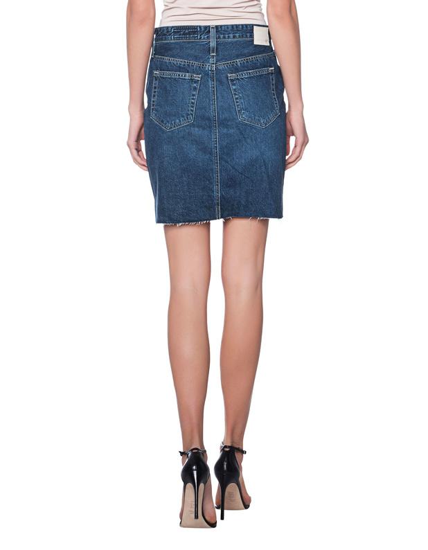b15e08b1c49b AG Jeans Erin Blue High Waist Jeansrock - Röcke