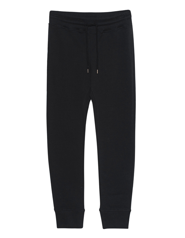 LOVE Moschino Emblem Classy Black Sweat pants with label