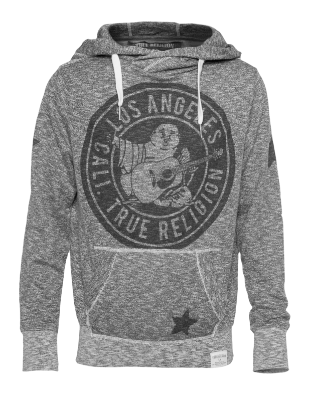 Circle Buddha Heather Grey