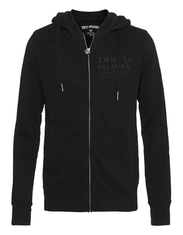 Hooded Zip Jacket True Jet Black