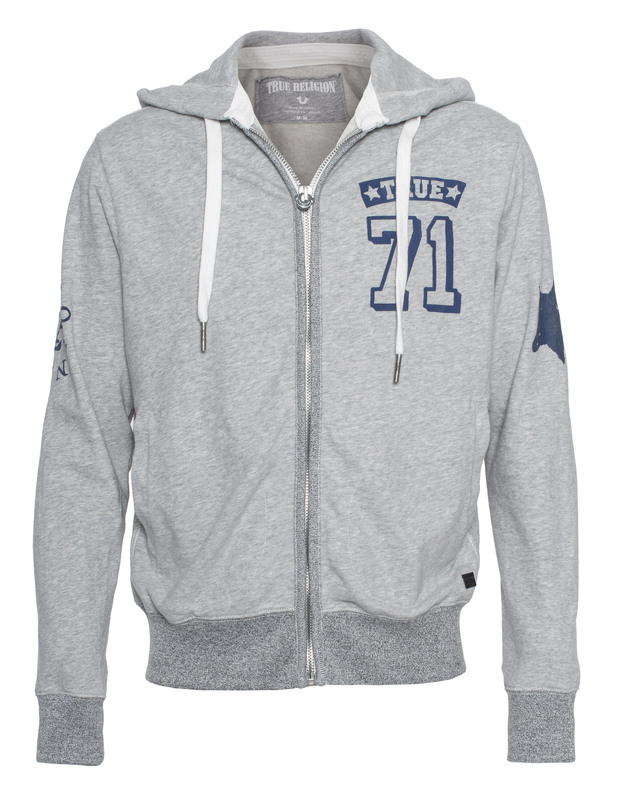 71 Zip Jacket Grey Marl