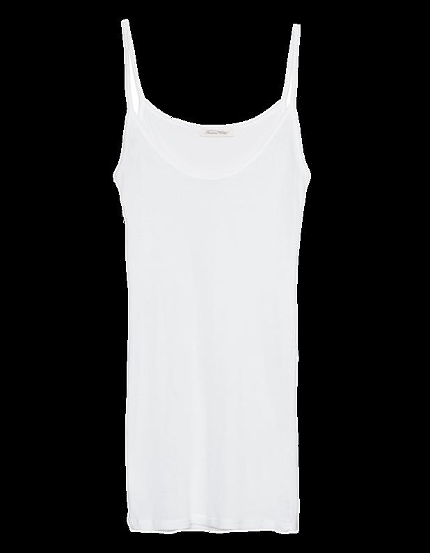 Massachusetts Fine Strap White