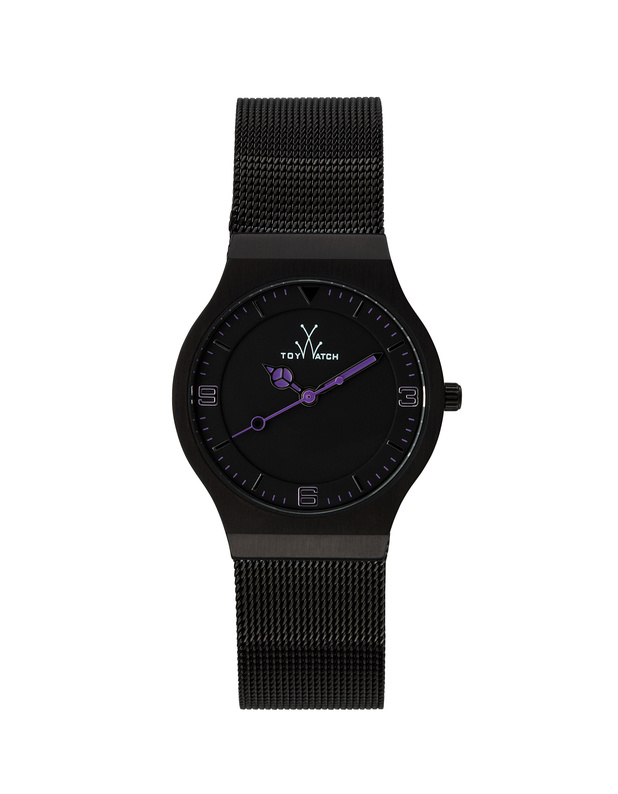TOYWATCH Mesh Small Black Purple
