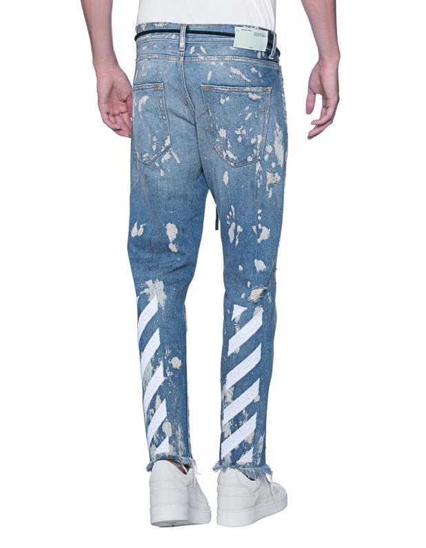 100% Original For Sale Huge Surprise Online cropped slim fit jeans - Blue Nine In The Morning K0Hnj4YEib