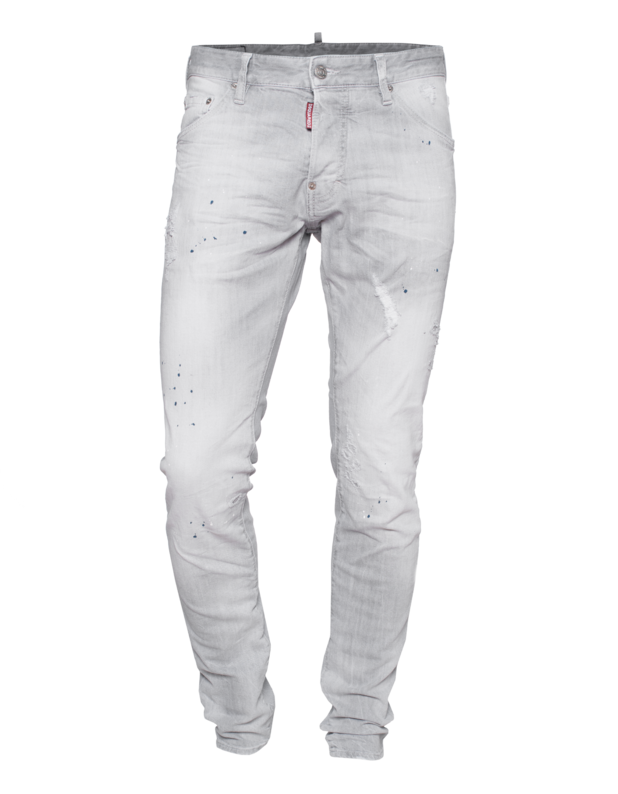 Cool Guy Jean Crotch Tight Bottom Grey