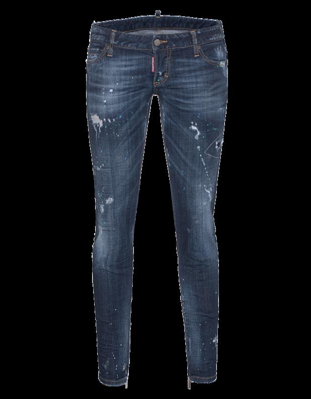Skinny Jean Short Crotch Tight Bottom Zip