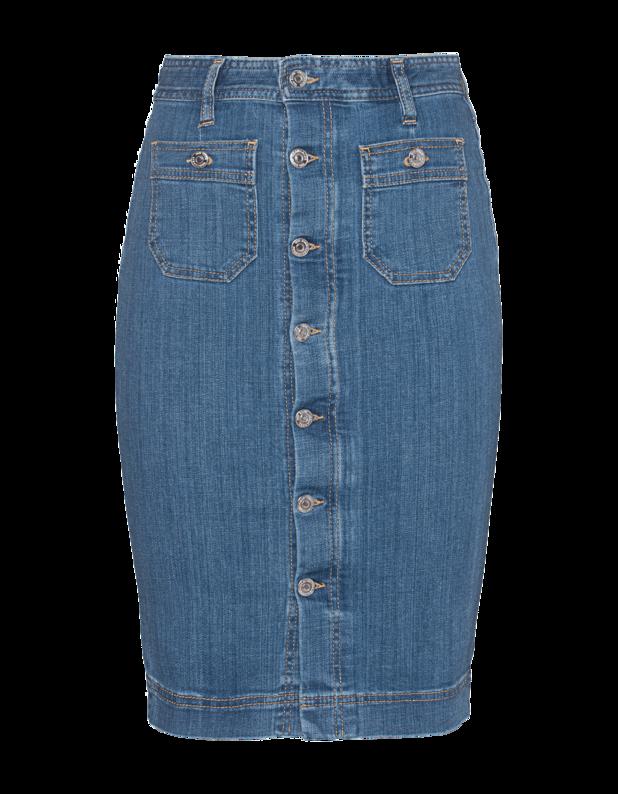 Jeans Button Blue