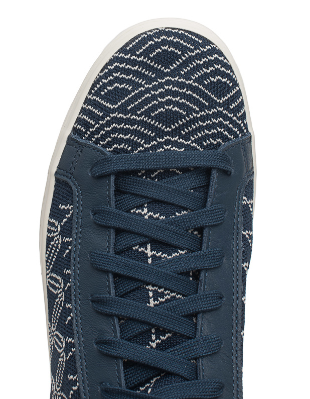 best website 00d97 0106c ADIDAS ORIGINALSCourt Vantage Primeknit Navy  Flat textile sneakers