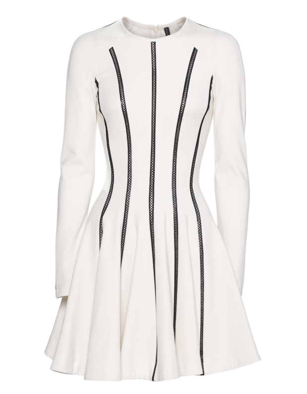 Robe Courte Off White
