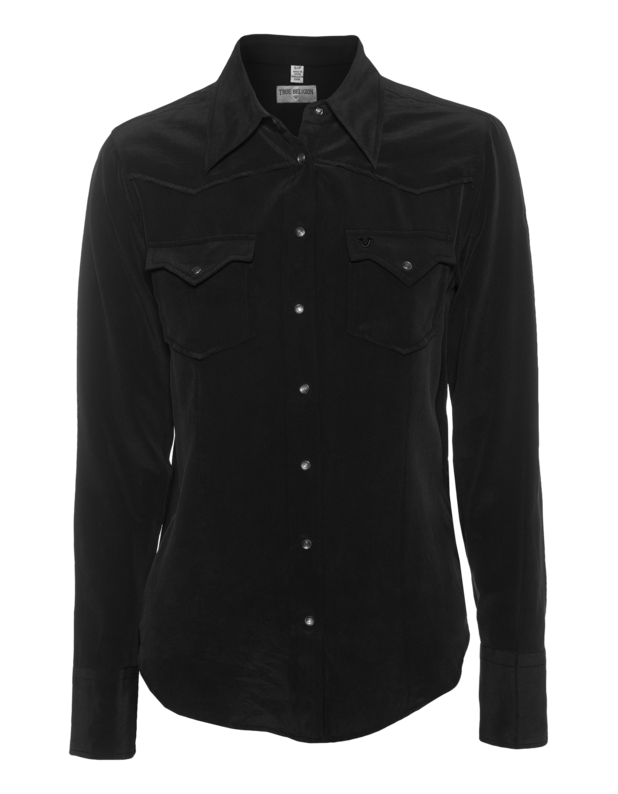 Western Blouse Black