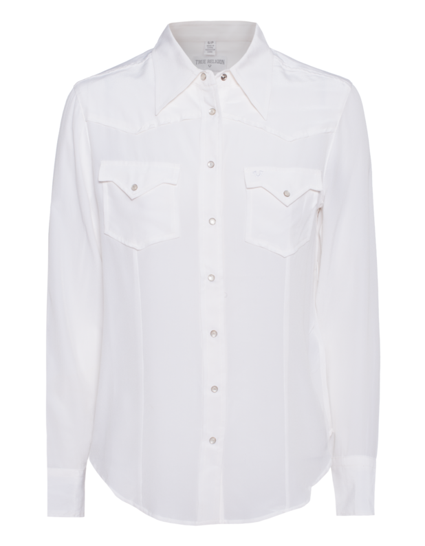 Western Blouse White