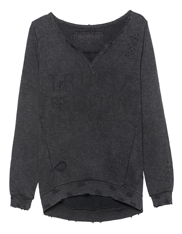 True Horseshoe Sweater Jetblack
