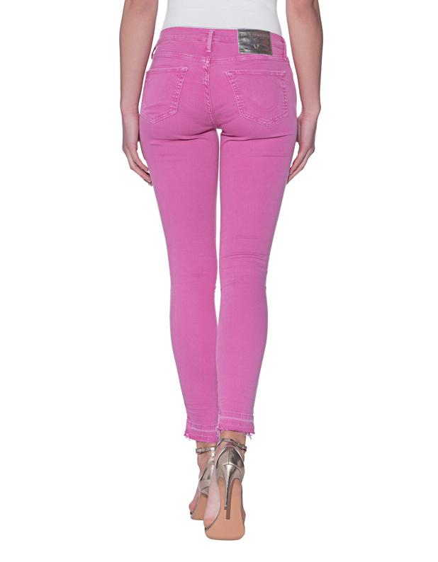 Halle Crop Pink - 24%2c Pink True Religion zjBTKP