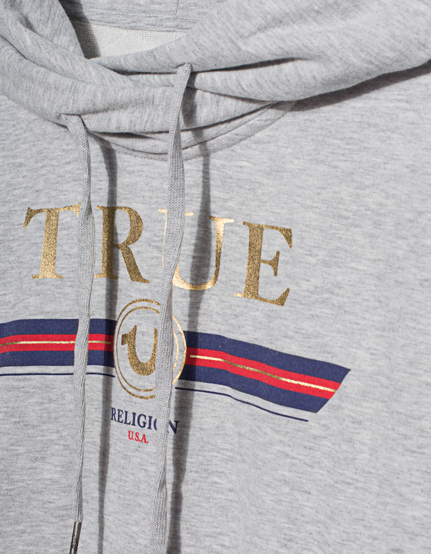 True Religion Printed Hoodie