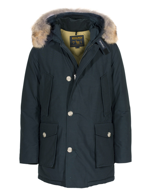 Slim Arctic Parka Dark Blue
