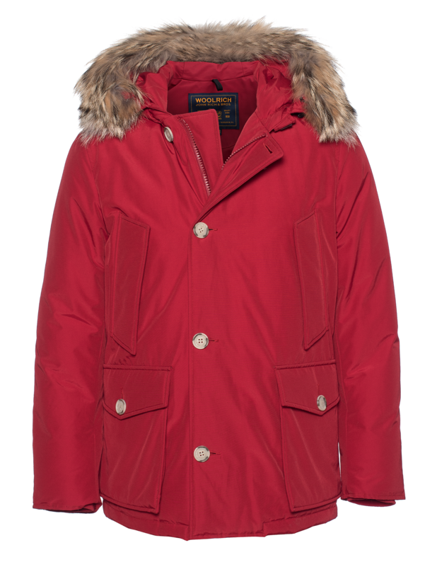 Arctic Anorak Red