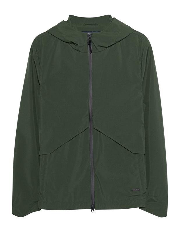 new style 49027 e18ba WOOLRICH Hood Navigator Green Light jacket with hood ...