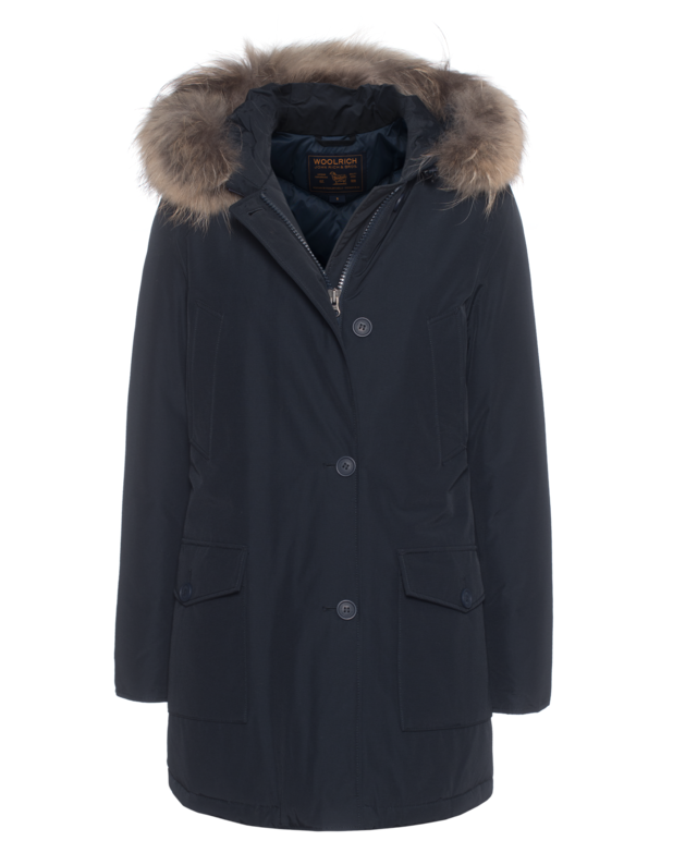 W's New Arctic Parka Dark Blue