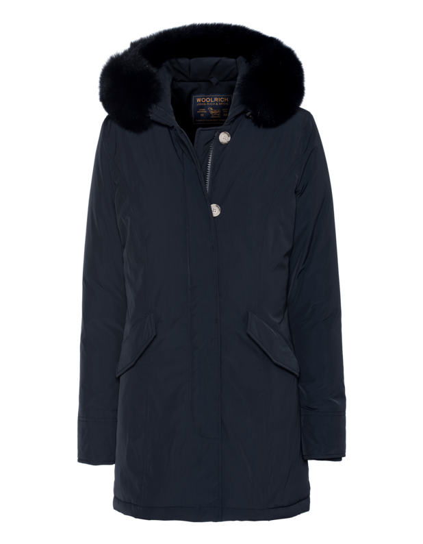 W's Luxury Arctic Parka Fox Dark Blue