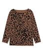 Oversize Sweatshirt im Jaguar-Design